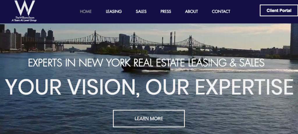 The Williams Team - best real estate agent websites