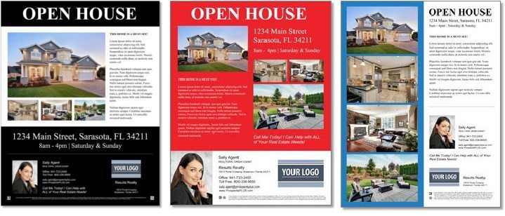 ProspectsPLUS real estate flyer examples