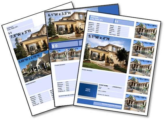 Zillow Premier Agent real estate flyer examples
