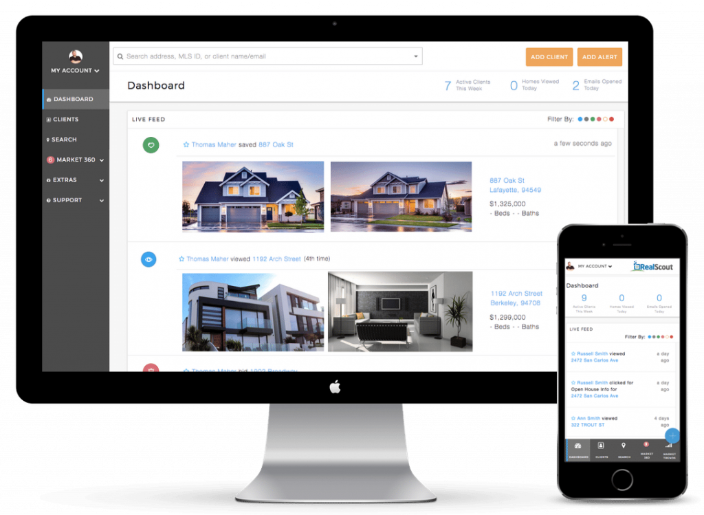 RealScout - real estate software