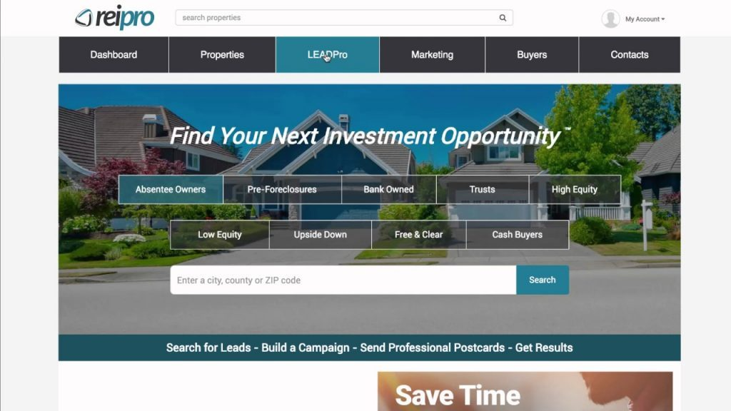 REIPro - real estate software
