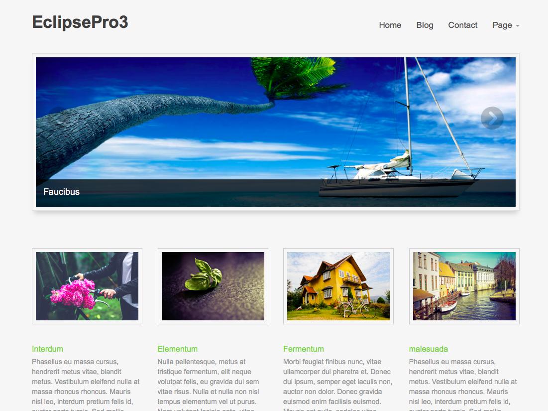 Cyberchimps - Eclipse Pro Theme - best wordpress photography themes