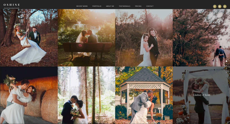 Themeforest - Oshine - best wordpress photography themes