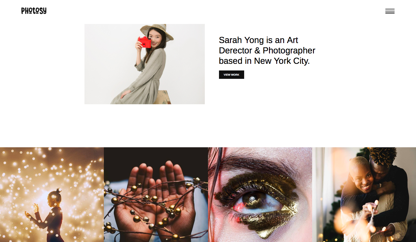 Themeforest - Photosy - best wordpress photography themes