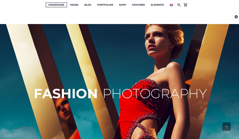 Themeforest - TheGem - best wordpress photography themes