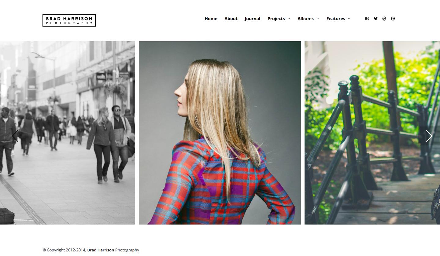 Themeforest - Superba - best wordpress photography themes