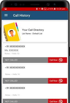 Calley - auto dialer app