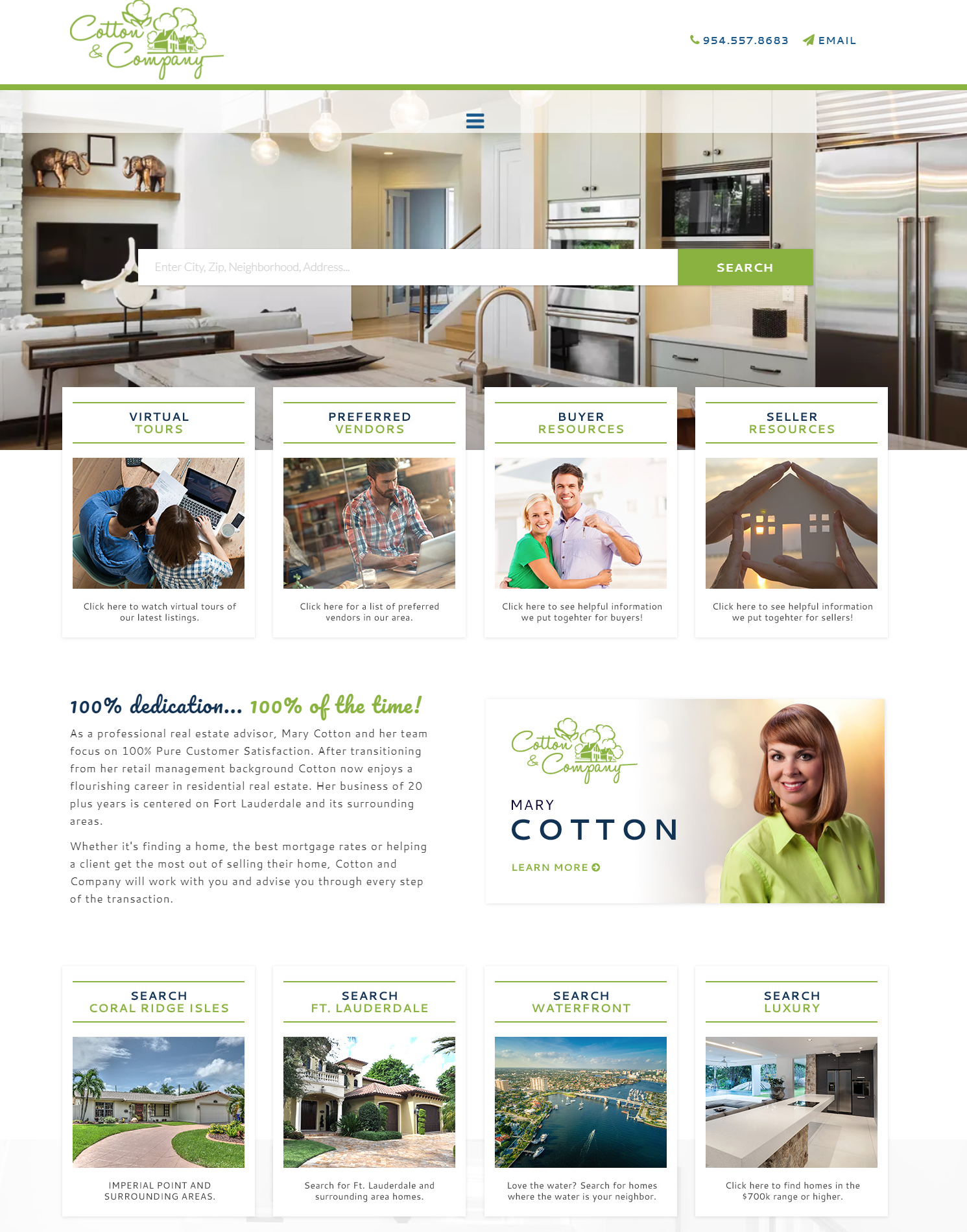 Cotton & Company - best real estate agent websites