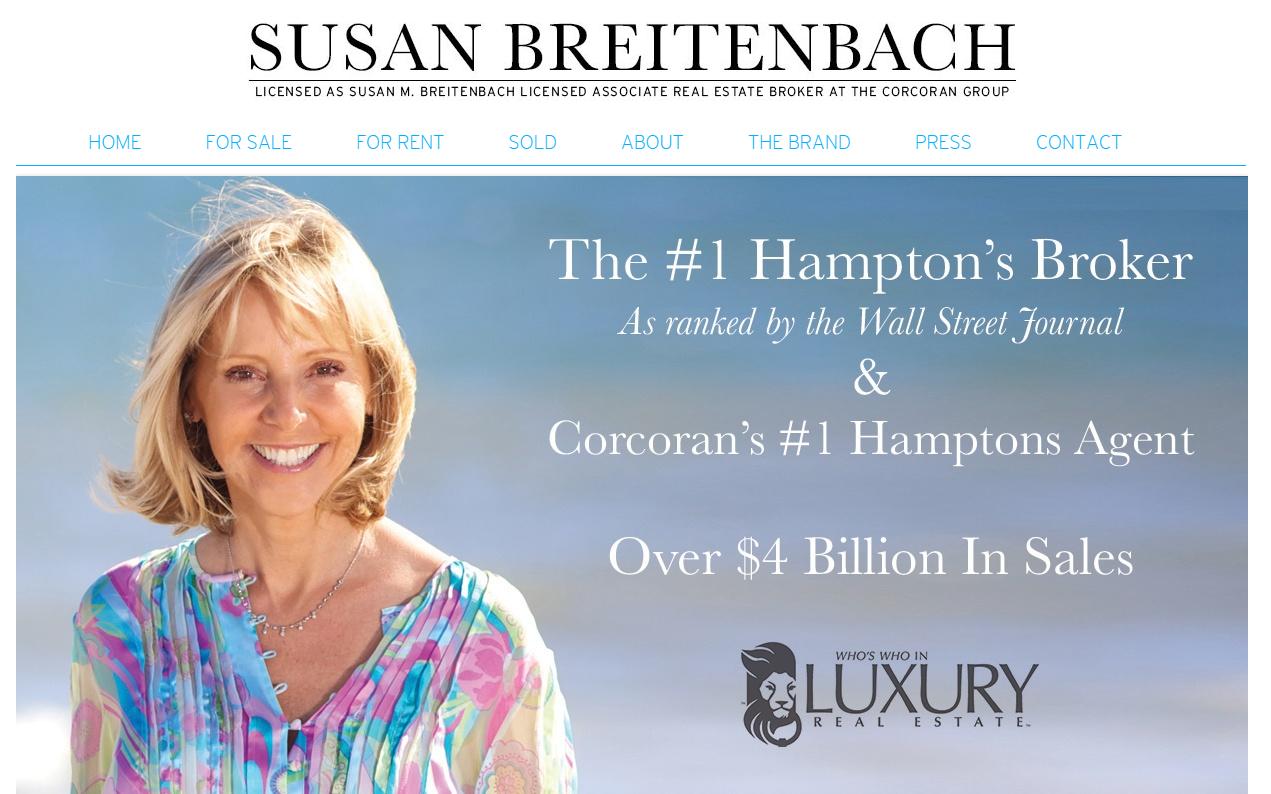 Susan Breitenbach - best real estate agent websites
