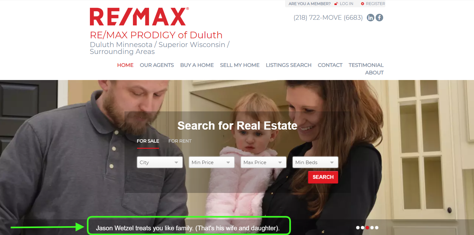 RE/MAX PRODIGY - best real estate agent websites