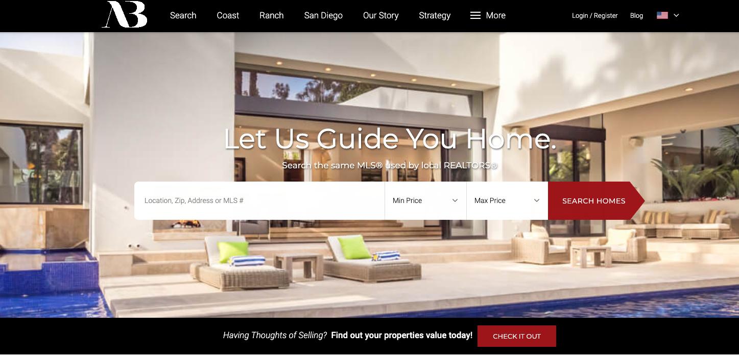 Aumann Bender - best real estate agent websites