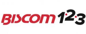 biscom 123 logo