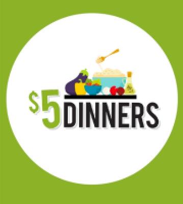5 dollar dinners