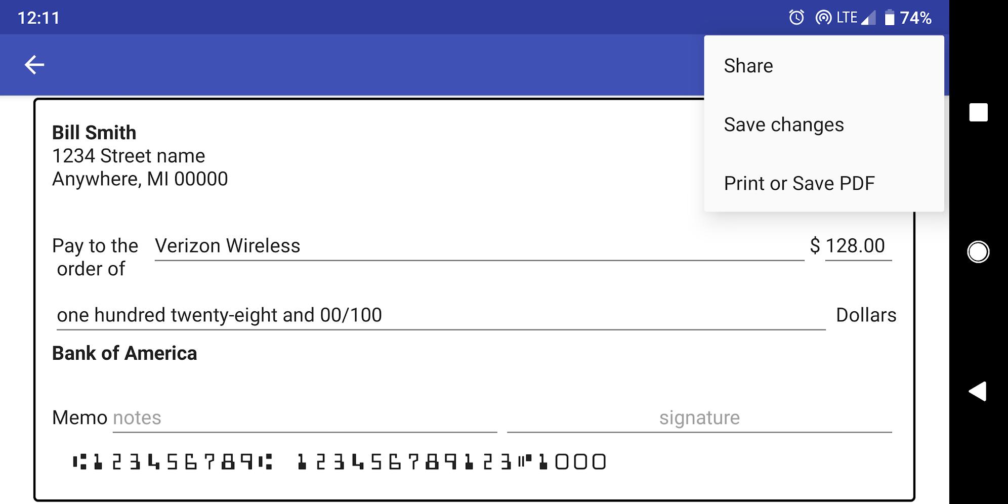 print payroll checks online free