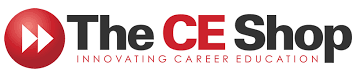 The CE Shop logo