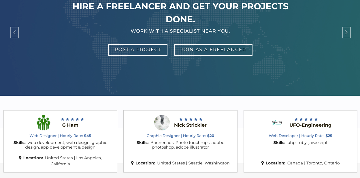 best websites to hire freelancers