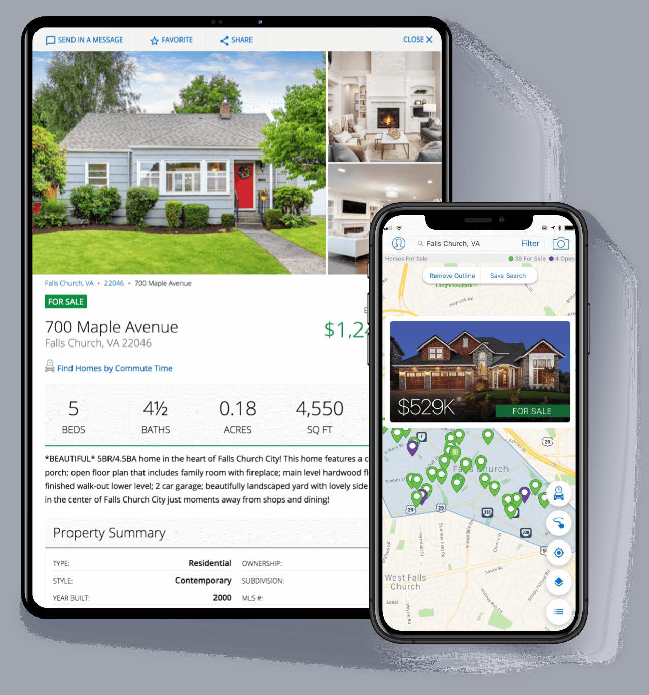 Homesnap - real estate software