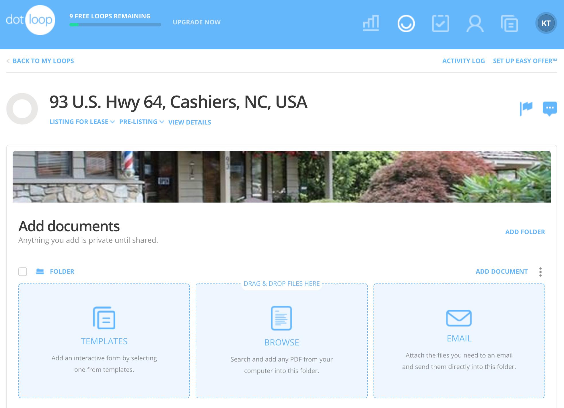 Dotloop - real estate software