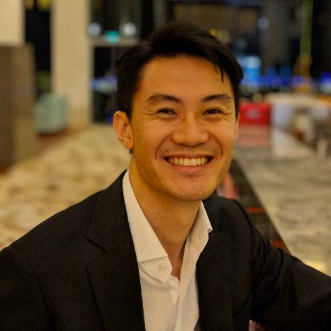 Shawn Lim - landing page