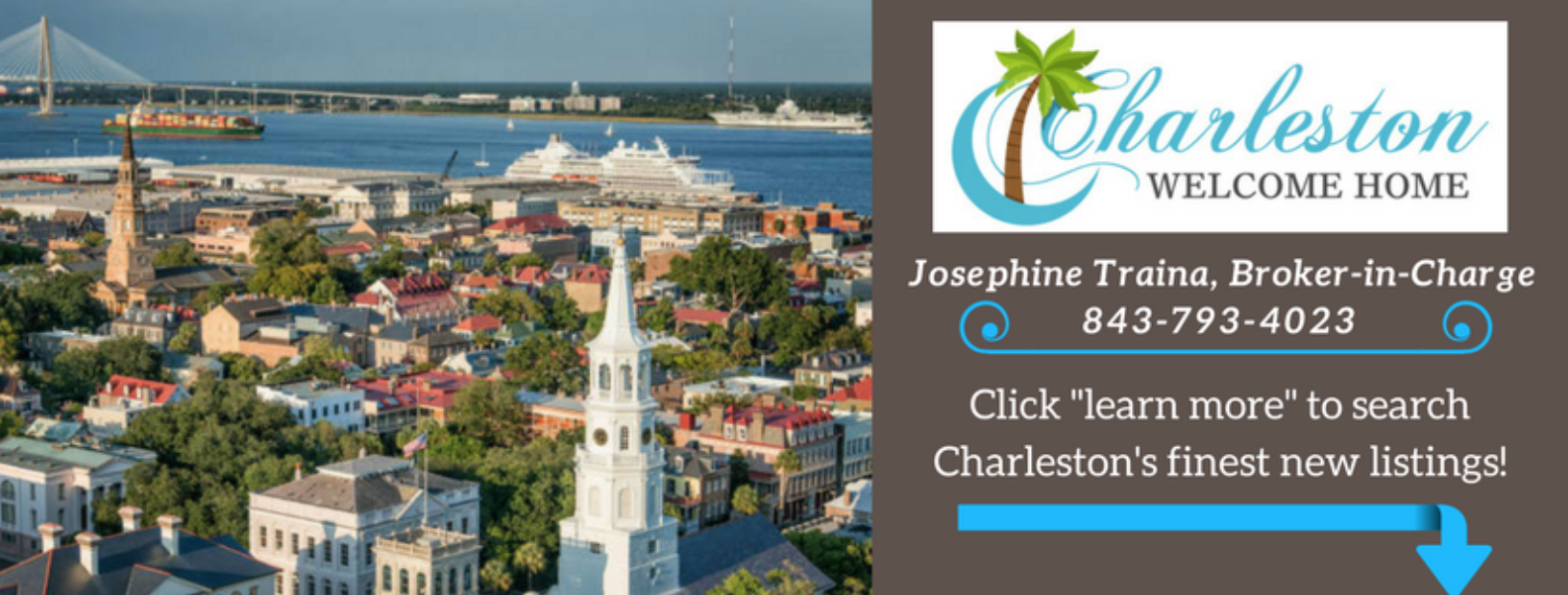 Charleston Welcome Home Real Estate - real estate cover photos - tips from the pros