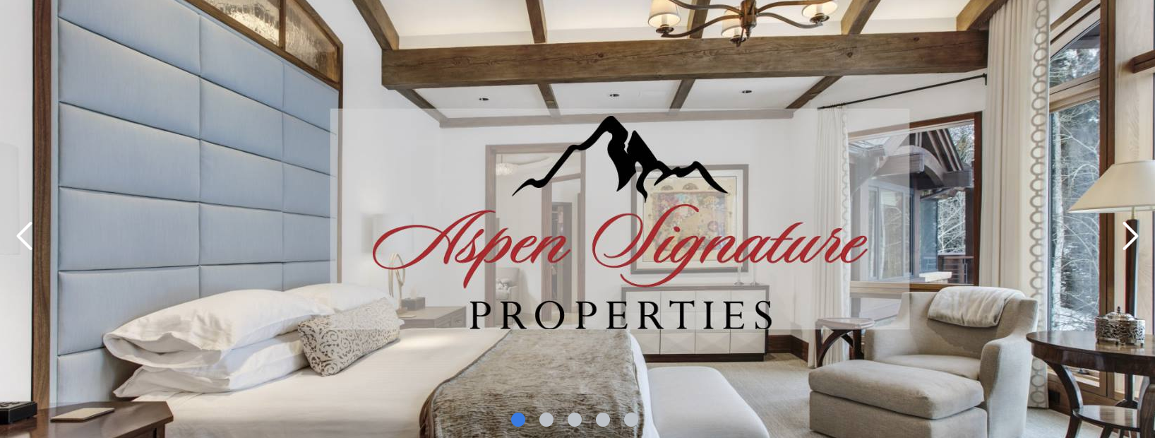 Aspen Signature Properties - real estate cover photos - tips from the pros