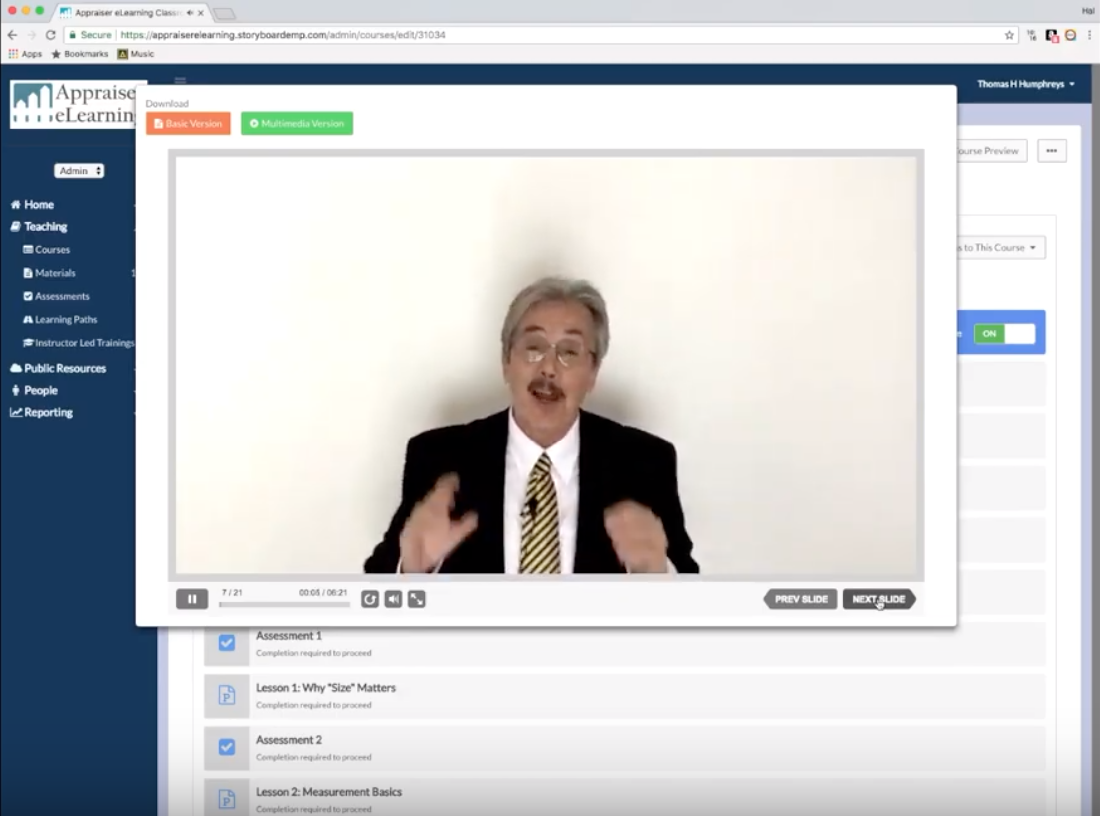 Appraiser eLearning - real estate appraiser training