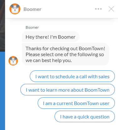 BoomTown - best real estate lead generation websites