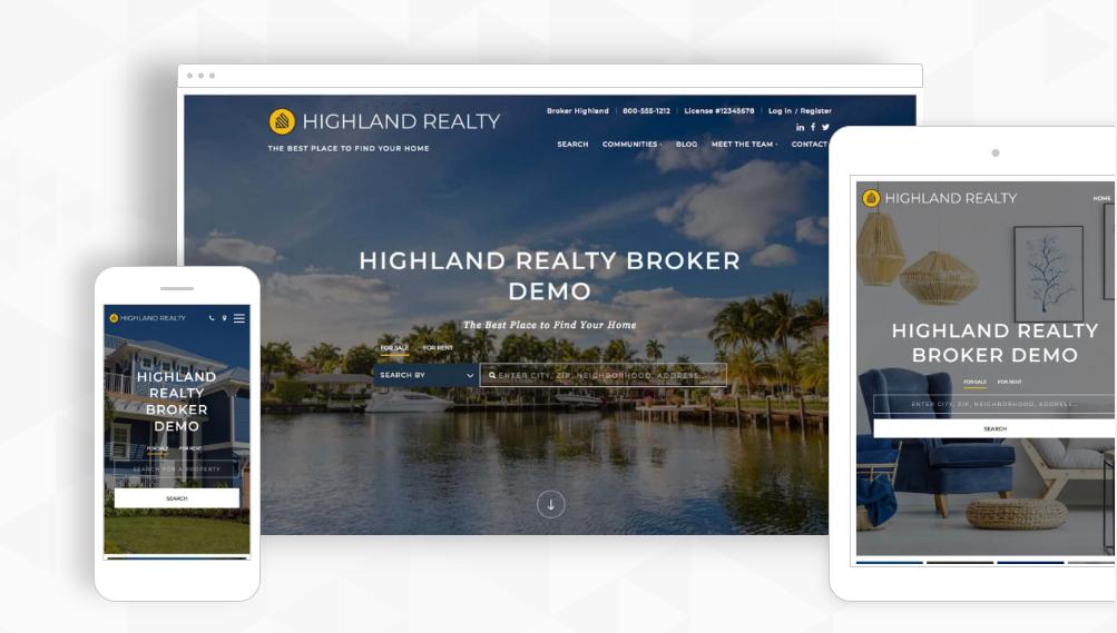 Placester - best real estate lead generation websites