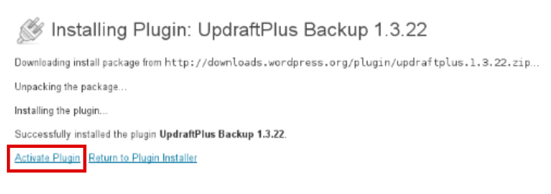 how to backup wordpress site