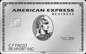 American Express Business Platinum Card