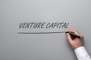 Venture Capital written in a white space