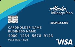 Alaska Airlines Visa Business Card