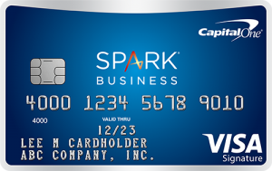 Capital One Spark Miles for Business credit card