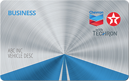 Chevron Texaco - best fuel card for small business