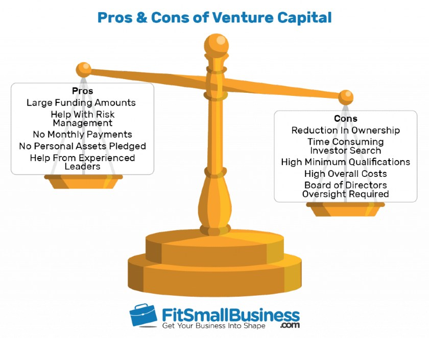 Prons and Cons of Venture Capital