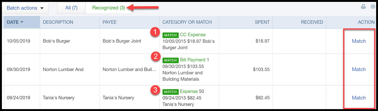 quickbooks online bank feeds