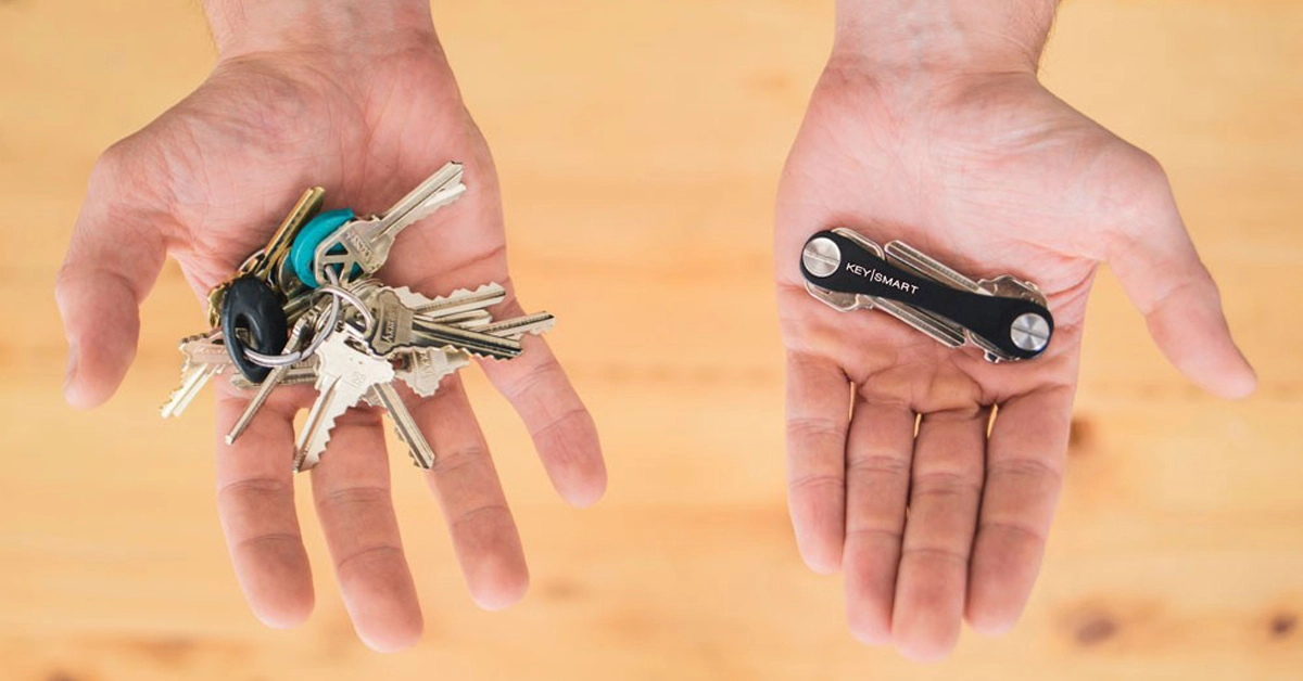 KeySmart Keychain - Office Gadgets - tips from the pros