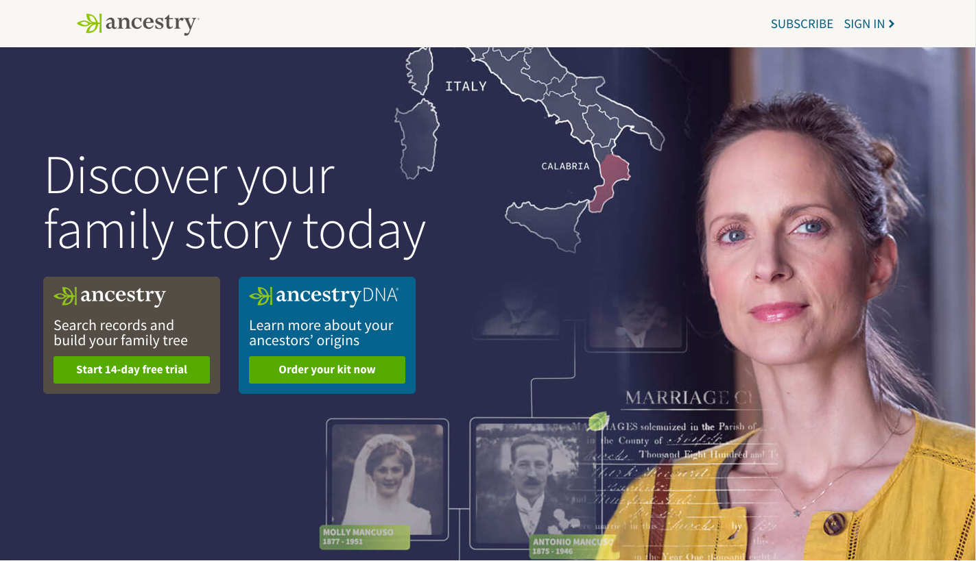 AncestryDNA for Networking