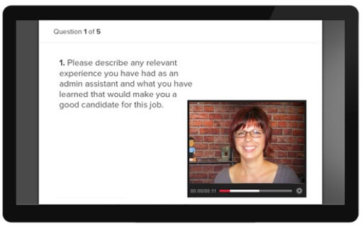 video interviews with applicant pro