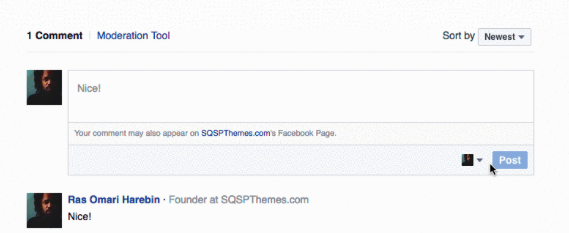 Facebook Comments - squarespace plugins