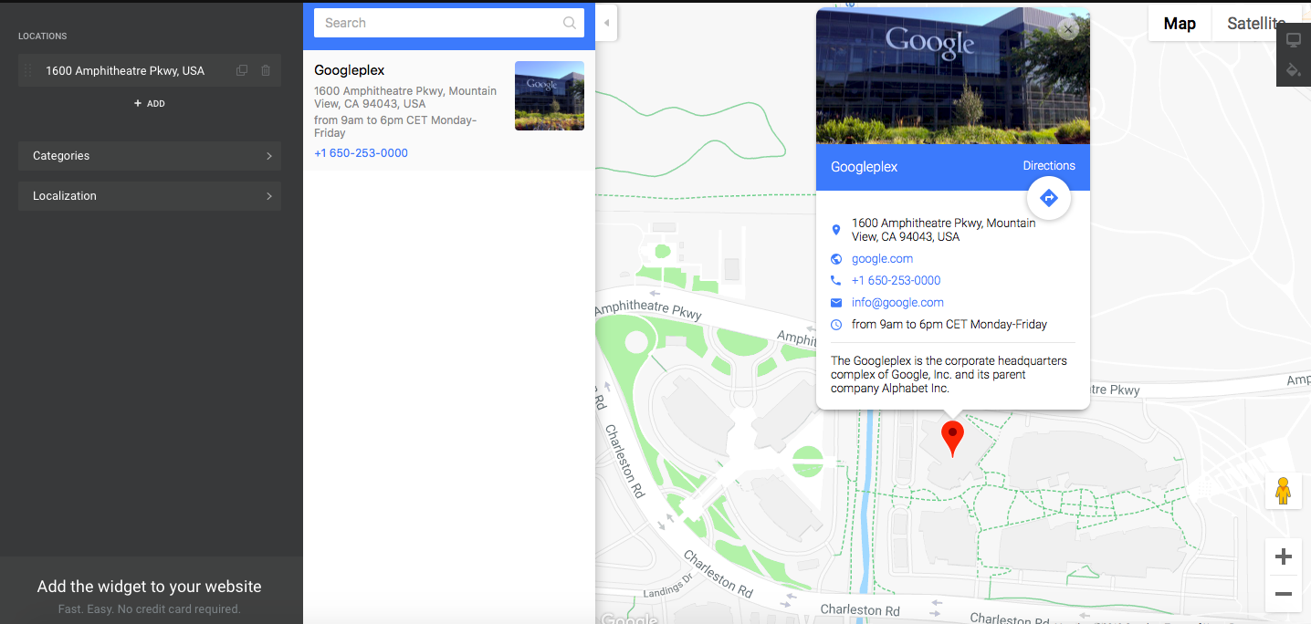 Google Map Squarespace - squarespace plugins