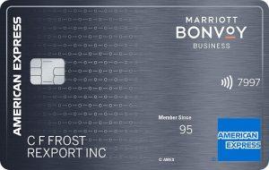 Marriott Bonvoy Business American Express Card
