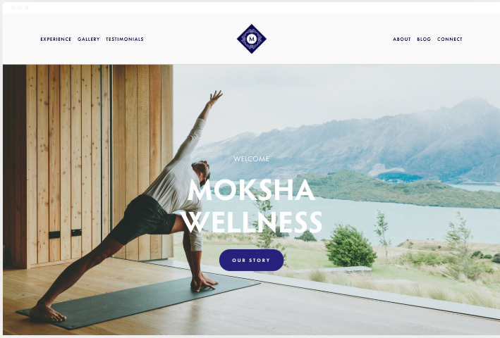 moksha free squarespace templates