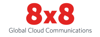 8x8 Global Cloud Communications logo