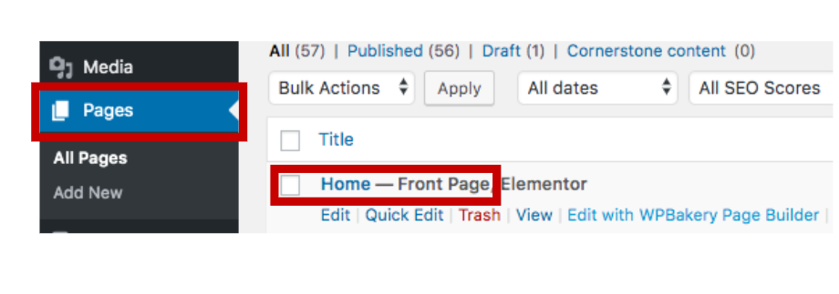 how to edit your wordpress homepage