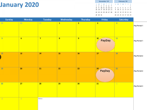 Bi Weekly Calendar 2020 Pay Period: Types, Payroll Calendars & State Requirements