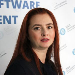 Alexandra Zelenko, Marketing & Technical Writer with DDI Development