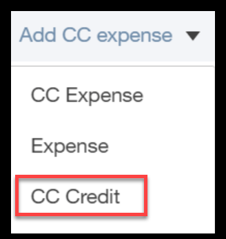 how to enter a credit card refund in quickbooks