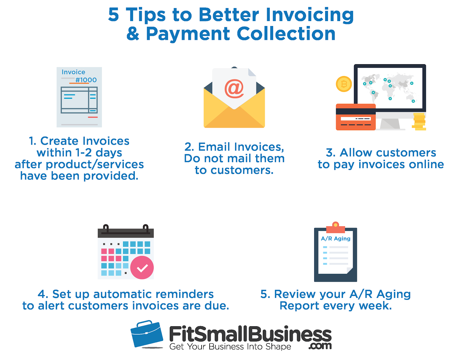 5 tips for better invoicing