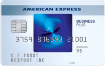 American Express Blue Business<sup>SM</sup> Plus - business credit Cards for Startups
